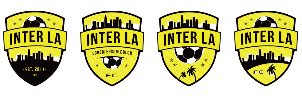 Perfect Template Crest Variations For Inter La Soccer