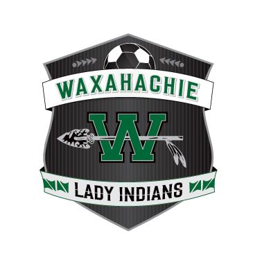 Waxahachie Lady Indians Soccer Badge