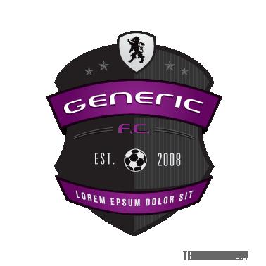 Template Soccer Logo
