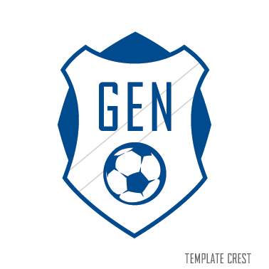 Template Soccer Crest Gallery